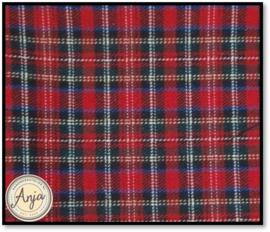 TS9819-10 Schotse ruit rood