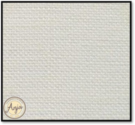 16 Draads linnen antique white 16 x 16 cm (UB)