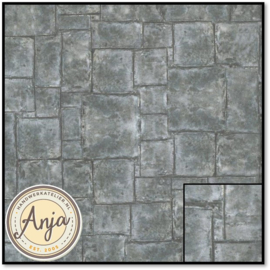 8211 Country Flagstone Floor Paper