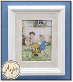 Y184 Schilderij met kinderen