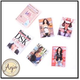 Zes magazines