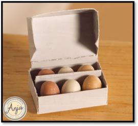 4658 doosje met eieren