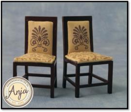 DF76149 Twee eetkamer stoelen