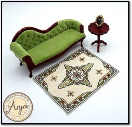 HD0120-B Marrie Art Deco vloerkleed