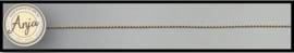 Koord goud 0,9 mm K0719-5