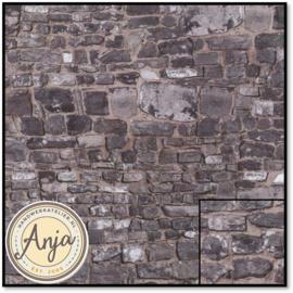 DIY797A Grey Stone Wall