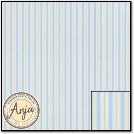 DIY189A Beckford Stripe Blue