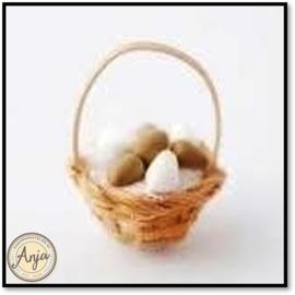 D1662 - Mand met eieren
