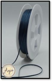329 Dark Smoke Blue Satijnlint 1.5 mm