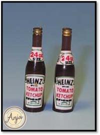 XA1069 2 Flessen Heinz ketchup