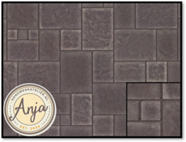 DIY776 Flagstone Random Tiles