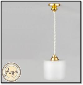 Hanglampje wit,  FA015079