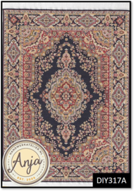 DIY317A Turkish Rug Purple
