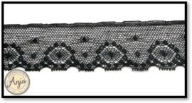 FL040 Kant Tule zwart