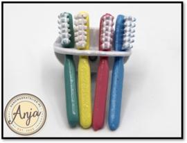 BA162 Tandenborstelhouder met tandenborstels