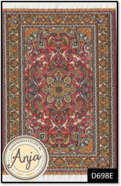 D698E Turkish Carpet Orange
