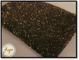 HWA622 tricot rekstof met gouddraad
