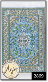2869 Medium Blue Antonio Rug