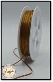 249 Walnut Satijn lint 1.5 mm