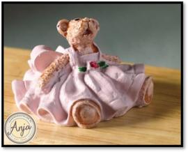 6398 Teddybeertje met jurkje