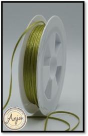 421 Pistachio Satijnlint 1.5 mm