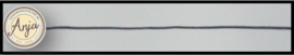 Wax koord leigrijs K0719-7