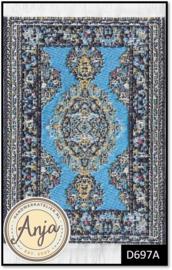 D697A - Turkish Carpet Light Blue