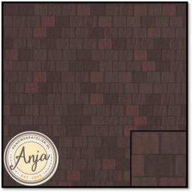 5195 Large Red Roof Tile Sheet