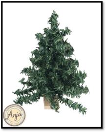 D940 Kerstboom op houten voet
