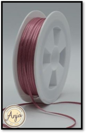 298 Dusty Pink Satijnlint 1.5 mm