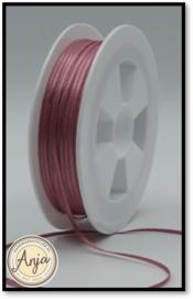 298 Dusty Pink Satijn lint 1.5 mm