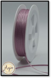 328 Dusty Mauve Satijnlint 1.5 mm