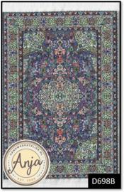D698B - Turkish Carpet Blue