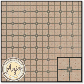 8275 Green & Beige Tile