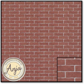 5845 Red Brick Wallpaper