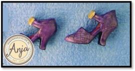 D1033B Paarse schoenen