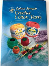 Venus Crochet Stalenkaart