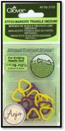 Stitch markers triangle medium voor breien