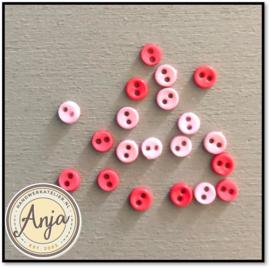 4 mm knoopjes Pink01