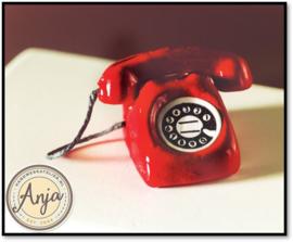4106 Rode telefoon