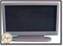 D1164 Breedbeeld TV Zilver