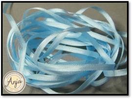 ZL-800 baby blauw zijdelint