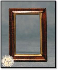 D1956 - Houten schilderijlijsten per twee