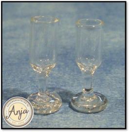 D068 Wijnglas per twee