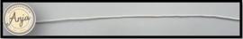 Wax koord wit K0719-10