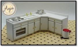 DF1188 Witte keuken