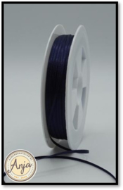 225 Navy Satijnlint 1.5 mm