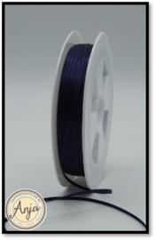 225 Navy Satijn lint 1.5 mm