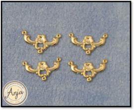 DIY610 Messing ornament voor schellekoord