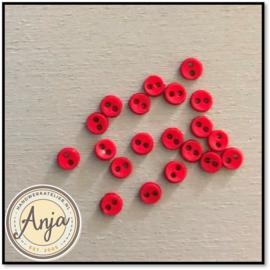 4 mm knoopjes Rood